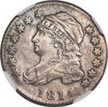 Bust Dimes, 1814 10C Large Date MS63 NGC....