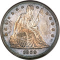 Proof Seated Dollars, 1859 $1 PR62 PCGS....