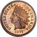 Proof Indian Cents, 1877 1C PR64 Red and Brown PCGS....