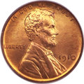 Proof Lincoln Cents, 1910 1C PR66 Red PCGS Secure....