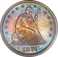 Proof Seated Quarters, 1873 25C No Arrows PR66 PCGS....