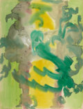 Fine Art - Painting, American:Contemporary   (1950 to present)  , BEAUFORD DELANEY (American, 1910-1979). Untitled, 1961.Watercolor on paper . 25-1/2 x 19 inches (64.8 x 48.3 cm). Signe...