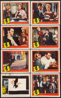 """The Man With the Golden Arm (United Artists, R-1960). Lobby Card Set of 8 (11"""" X 14""""). Drama. ... (Total: 8 It..."""
