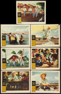 "Movie Posters:Adventure, The Old Man and the Sea (Warner Brothers, 1958). Lobby Cards (7)(11"" X 14""). Adventure.. ... (Total: 7 Items)"