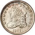 Bust Dimes, 1837 10C MS66 PCGS. CAC....
