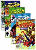 Modern Age (1980-Present):Superhero, The Amazing Spider-Man Group (Marvel, 1982-88) Condition: AverageVF+.... (Total: 74 Comic Books)