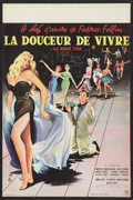 "Movie Posters:Foreign, La Dolce Vita (Cineriz, 1960). French Petite (15.5"" X 23.5""). Foreign.. ..."
