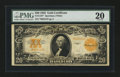 Large Size:Gold Certificates, Fr. 1187 $20 1922 Gold Certificate Star Note PMG Very Fine 20....