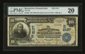 National Bank Notes:Pennsylvania, Boyertown, PA - $10 1902 Date Back Fr. 623 The NB of Boyertown Ch.# (E)2137. ...