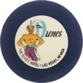Miscellaneous:Gaming Chips, Dunes Las Vegas Roulette Chip, First Issue, R-8, 1955....