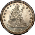 Seated Quarters, 1880 25C MS66 Prooflike NGC....