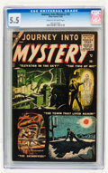 Silver Age (1956-1969):Horror, Journey Into Mystery #32 (Marvel, 1956) CGC FN- 5.5 Cream tooff-white pages....