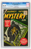Golden Age (1938-1955):Horror, Journey Into Mystery #29 (Marvel, 1955) CGC FN 6.0 Cream tooff-white pages....