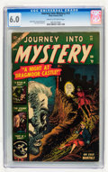 Golden Age (1938-1955):Horror, Journey Into Mystery #12 (Marvel, 1953) CGC FN 6.0 Cream tooff-white pages....