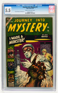 Golden Age (1938-1955):Horror, Journey Into Mystery #9 (Marvel, 1953) CGC FN- 5.5 Cream tooff-white pages....