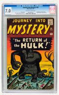Silver Age (1956-1969):Horror, Journey Into Mystery #66 (Marvel, 1961) CGC FN/VF 7.0 Off-white towhite pages....