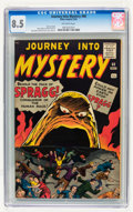 Silver Age (1956-1969):Horror, Journey Into Mystery #68 (Marvel, 1961) CGC VF+ 8.5 Off-whitepages....