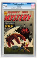 Silver Age (1956-1969):Horror, Journey Into Mystery #71 (Marvel, 1961) CGC FN/VF 7.0 Off-whitepages....