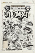 Original Comic Art:Covers, Joe Kubert G. I. Combat #235 Haunted Tank Cover Original Art (DC, 1981)....
