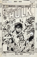 Original Comic Art:Covers, Al Milgrom The Incredible Hulk #245 Cover Original Art(Marvel, 1980)....