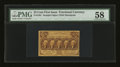 Fractional Currency:First Issue, Fr. 1281 25¢ First Issue PMG Choice About Unc 58....