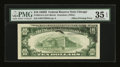 Error Notes:Offsets, Fr. 2014-G $10 1950D Federal Reserve Note. PMG Choice Very Fine 35EPQ.. ...