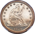 Proof Seated Quarters, 1879 Seated Quarter PR64 NGC....