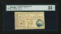 Colonial Notes:Georgia, Georgia 1777 $5 PMG Choice Very Fine 35 EPQ....