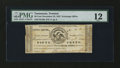 Obsoletes By State:Tennessee, Trenton, TN- Unidentified Issuer 50¢ Nov. 23, 1837 . ...