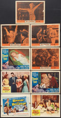 "Movie Posters:Bad Girl, Bad Girls Lot (Various, 1956-1959). Title Lobby Card and LobbyCards (8) (11"" X 14""). Bad Girl.. ... (Total: 9 Items)"