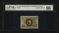 Fractional Currency:Second Issue, Fr. 1247 10¢ Second Issue PMG Gem Uncirculated 66 EPQ....