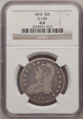 Bust Half Dollars, 1810 50C Good 6 NGC. O-105. NGC Census: (1/452). PCGS Population(0/537). Mintage: 1,276,276. Numismedia Wsl. Price for pro...