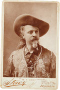 "Photography:Cabinet Photos, ""Buffalo Bill"" Cody: Classic Cabinet Card, Circa 1880s-1890s. ..."