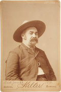 Autographs:Celebrities, John X. Beidler: Signed Cabinet Card Photo by Keller of Helena,Montana....