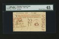 Colonial Notes:Georgia, Georgia 1776 $20 Maroon Seal PMG Choice Extremely Fine 45....