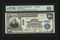 National Bank Notes:Pennsylvania, Nazareth, PA - $10 1902 Plain Back Fr. 633 The Second NB Ch. #5686. ...
