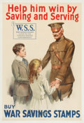 Antiques:Posters & Prints, World Wars I and II: Group of Nine American Posters.... (Total: 9 Items)