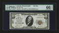 National Bank Notes:Pennsylvania, Latrobe, PA - $10 1929 Ty. 1 The First NB Ch. # 3831. ...
