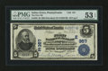 National Bank Notes:Pennsylvania, Selins Grove, PA - $5 1902 Plain Back Fr. 598 The First NB Ch. #(E)357. ...