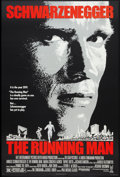 """Movie Posters:Action, The Running Man Lot (Tri-Star, 1987). One Sheets (2) (27"""" X 41"""") Regular and Advance. Action.. ... (Total: 2 Items)"""