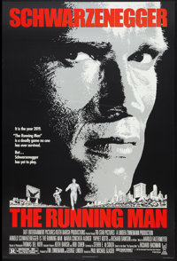 "The Running Man Lot (Tri-Star, 1987). One Sheets (2) (27"" X 41"") Regular and Advance. Action. ... (Total: 2 It..."