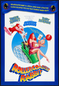 """Movie Posters:Animated, Rollercoaster Rabbit (Buena Vista, 1990). One Sheet (27"""" X 40"""") DS. Animated.. ..."""