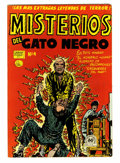 Golden Age (1938-1955):Horror, Misterios del Gato Negro #4 File Copy (Harvey, 1953) Condition:VF-....