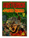 Golden Age (1938-1955):Horror, Misterios del Gato Negro #10 File Copy (Harvey, 1953) Condition:VF....
