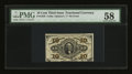 Fractional Currency:Third Issue, Fr. 1256 10¢ Third Issue PMG Choice About Unc 58....