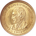 Commemorative Gold, 1904 G$1 Lewis and Clark MS64 NGC. CAC....