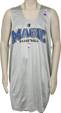 Basketball Collectibles:Uniforms, 2001-02 Patrick Ewing Practice Worn Jersey. Premier Hall of Famecenter Patrick Ewing finished his illustrious career as a ...