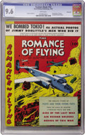 Golden Age (1938-1955):Non-Fiction, Feature Books #33 The Romance of Flying - Vancouver pedigree (DavidMcKay, 1942) CGC NM+ 9.6 White pages....