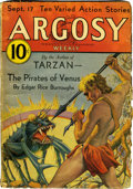 "Pulps:Miscellaneous, Argosy/Fantastic Adventures ""Venus"" Group (Various, 1932-42)Condition: Average GD/VG.... (Total: 13 Comic Books)"