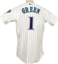 Baseball Collectibles:Uniforms, 2004-05 Andy Green Game Used Jersey. Recent gamer from the archives of the Arizona Diamondbacks circa 2004-05 was worn by b...
